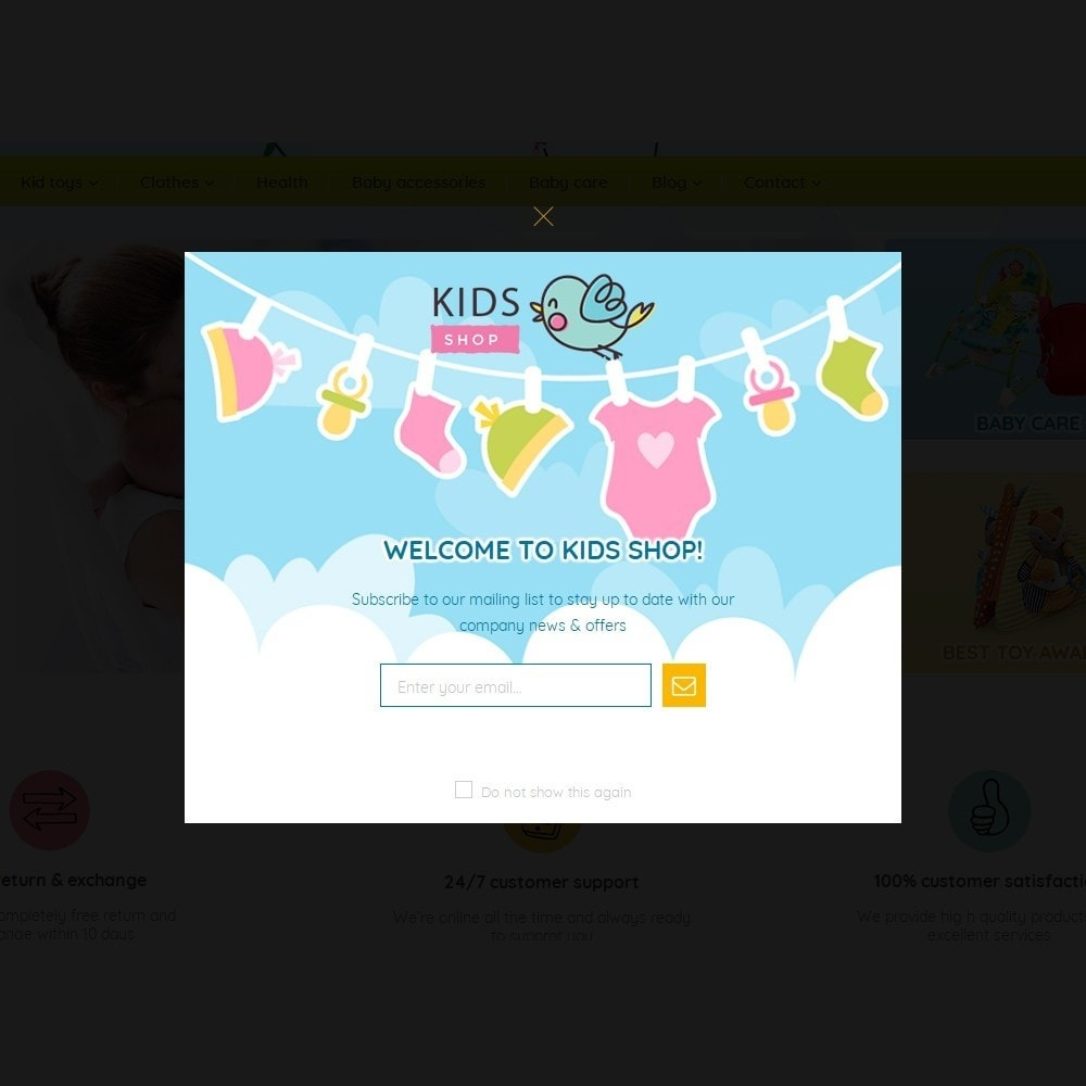 theme - Дети и Игрушки - Kids Shop - All in one package - 7