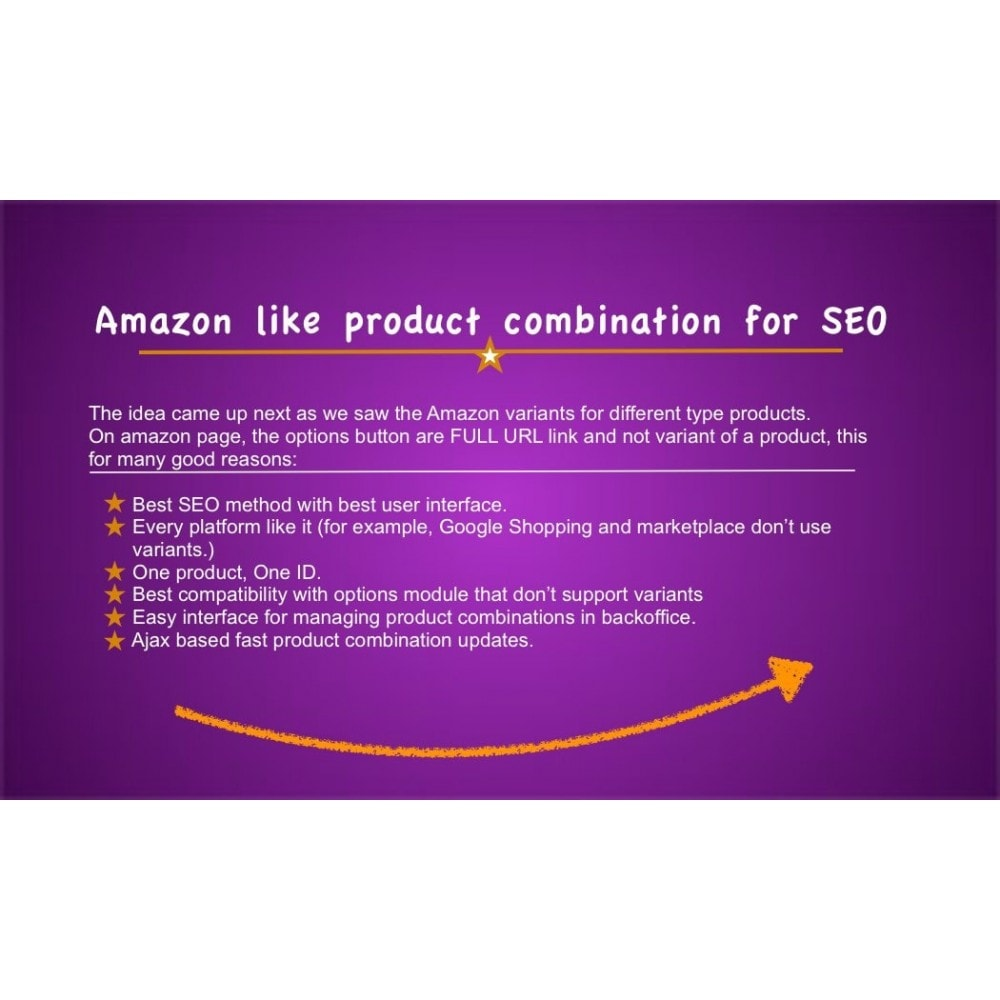 module - Combinaciones y Personalización de productos - Ultimate SEO combination (like Amazon) - 1