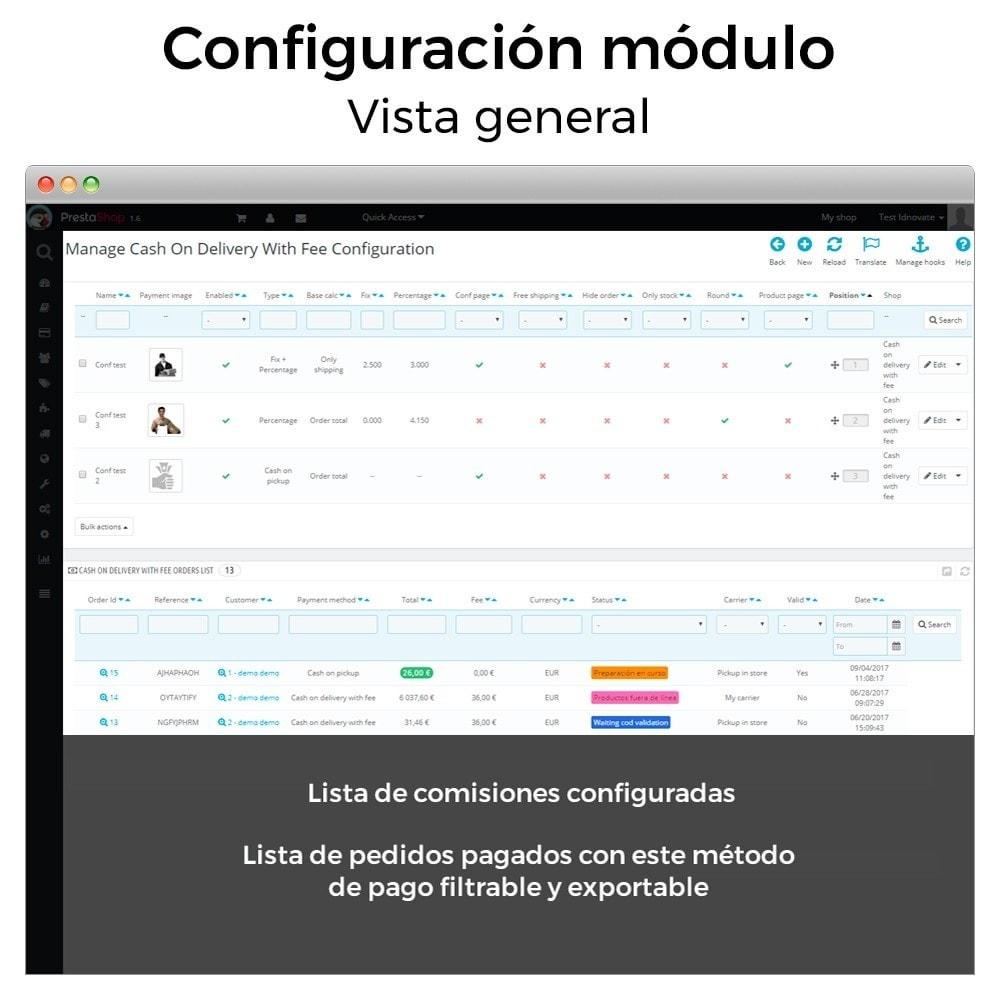 module - Pago a la Entrega (contrarrembolso) - Pago contra reembolso con comisión/recargo Plus - 3