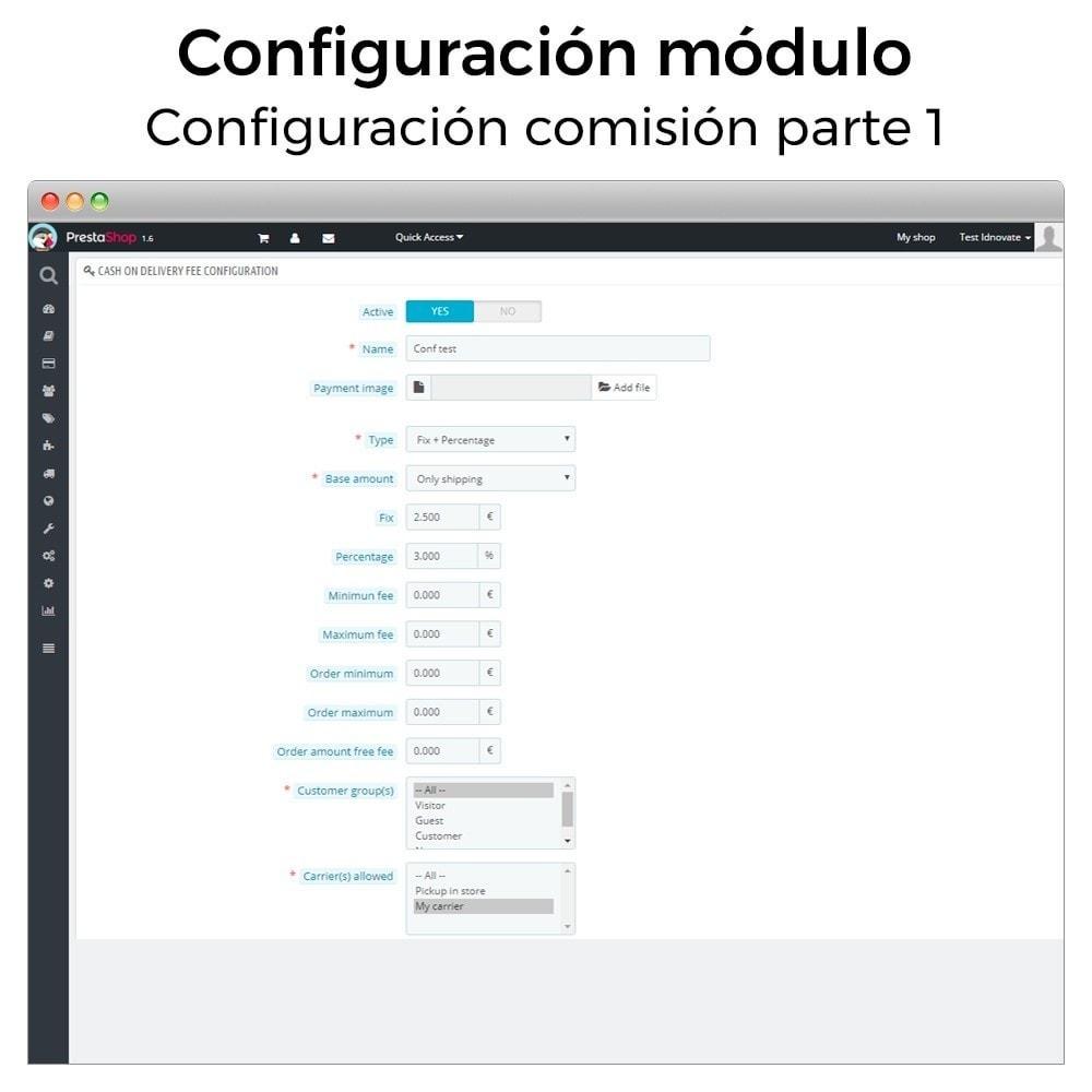 module - Pago a la Entrega (contrarrembolso) - Pago contra reembolso con comisión/recargo Plus - 4