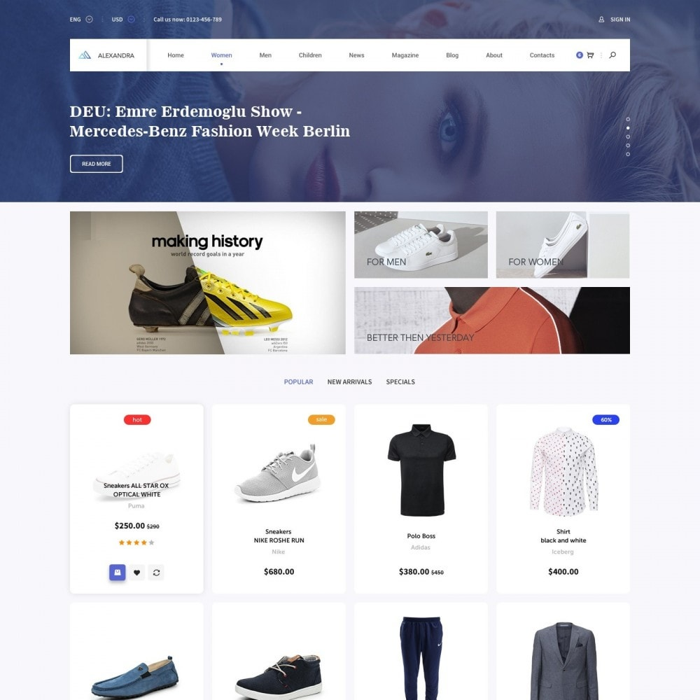 theme - Mode & Schuhe - Brand Store of Clothes - 1