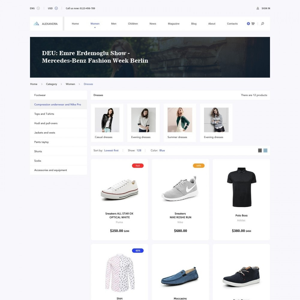 theme - Mode & Schuhe - Brand Store of Clothes - 2