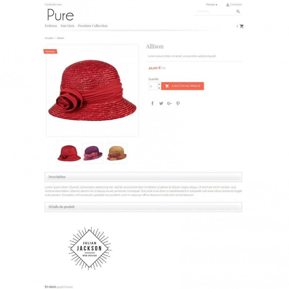theme - Moda & Obuwie - Pure - 3