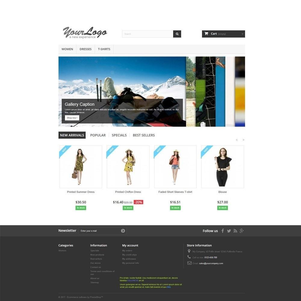 module - Sliders & Galeries - Accordion Slideshow on Homepage. - 2