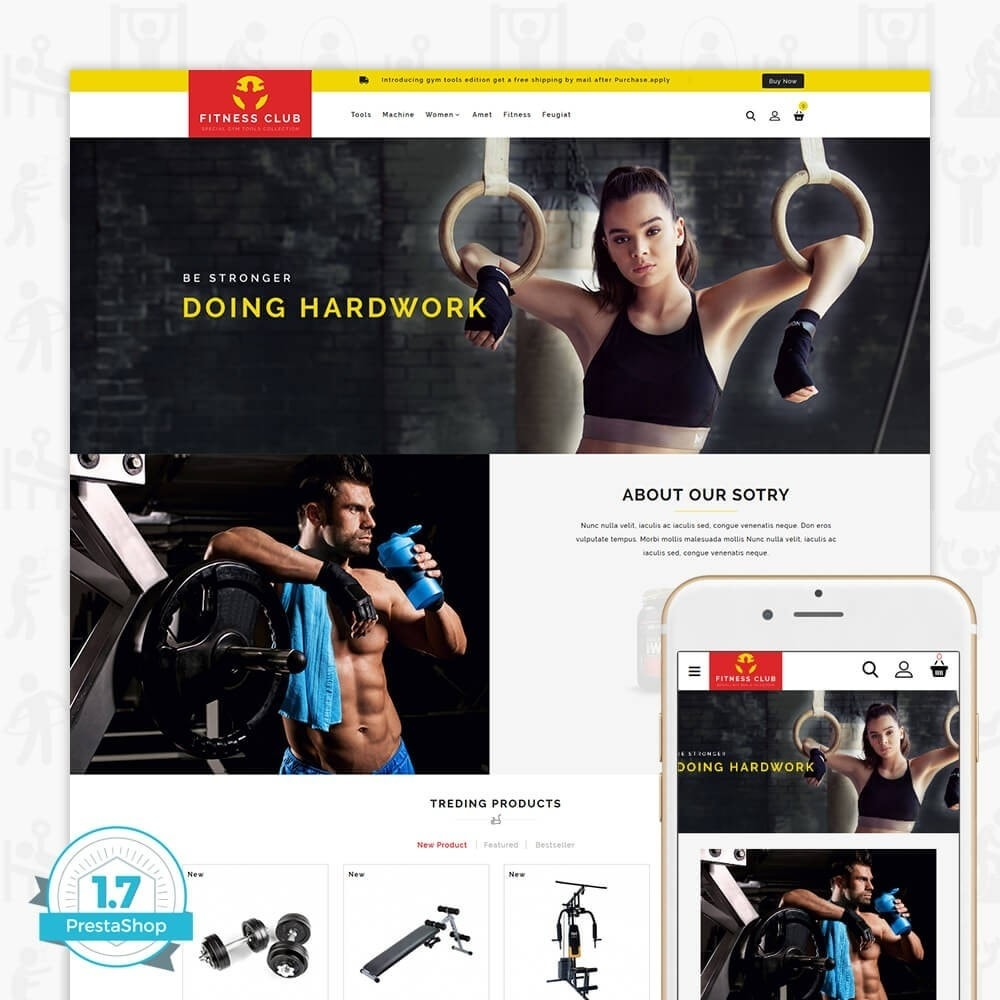 theme - Health & Beauty - Fitness Club - The Special GYM Tools Collection - 1