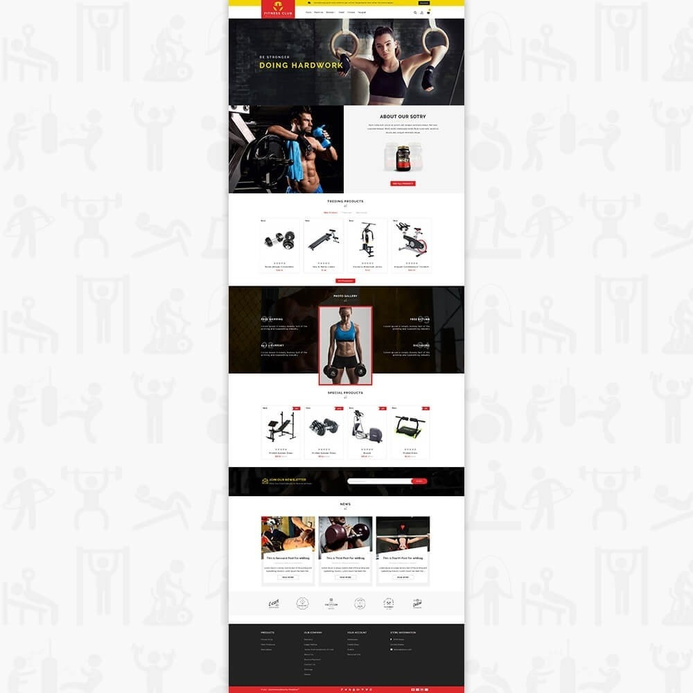 theme - Health & Beauty - Fitness Club - The Special GYM Tools Collection - 2