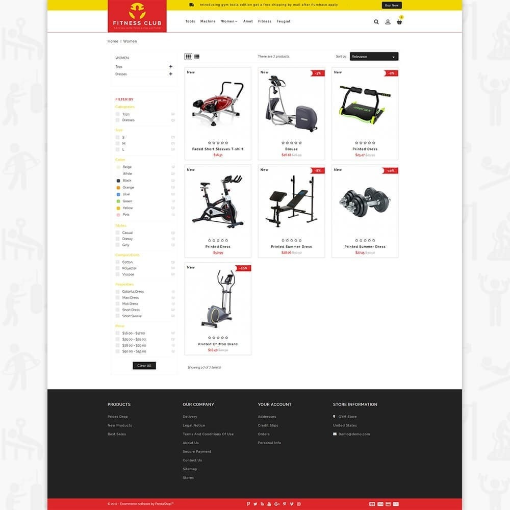 theme - Health & Beauty - Fitness Club - The Special GYM Tools Collection - 3