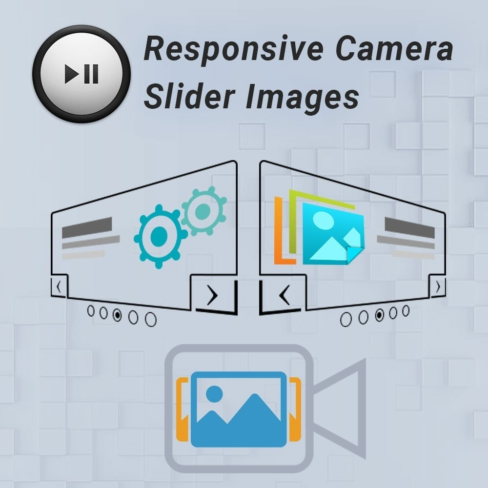 module - Slider & Gallerie - Ultra Camera Slider on your Homepage. - 1