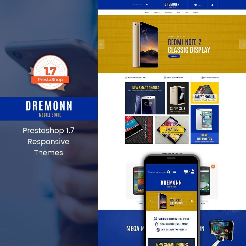 theme - Electronique & High Tech - Dremonn - Mobile Store - 1