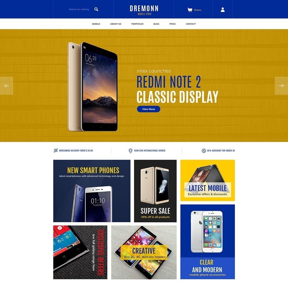 theme - Elektronika & High Tech - Dremonn - Mobile Store - 2