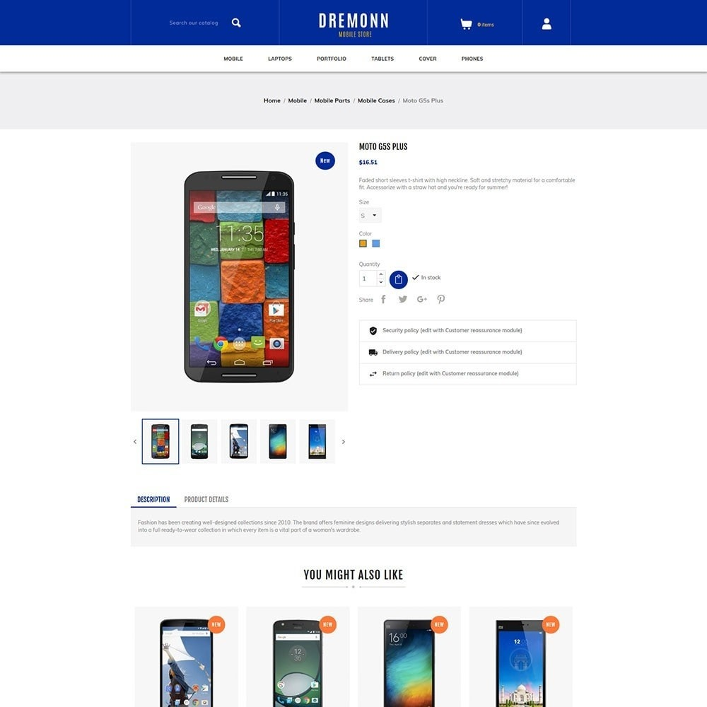 theme - Elektronika & High Tech - Dremonn - Mobile Store - 5