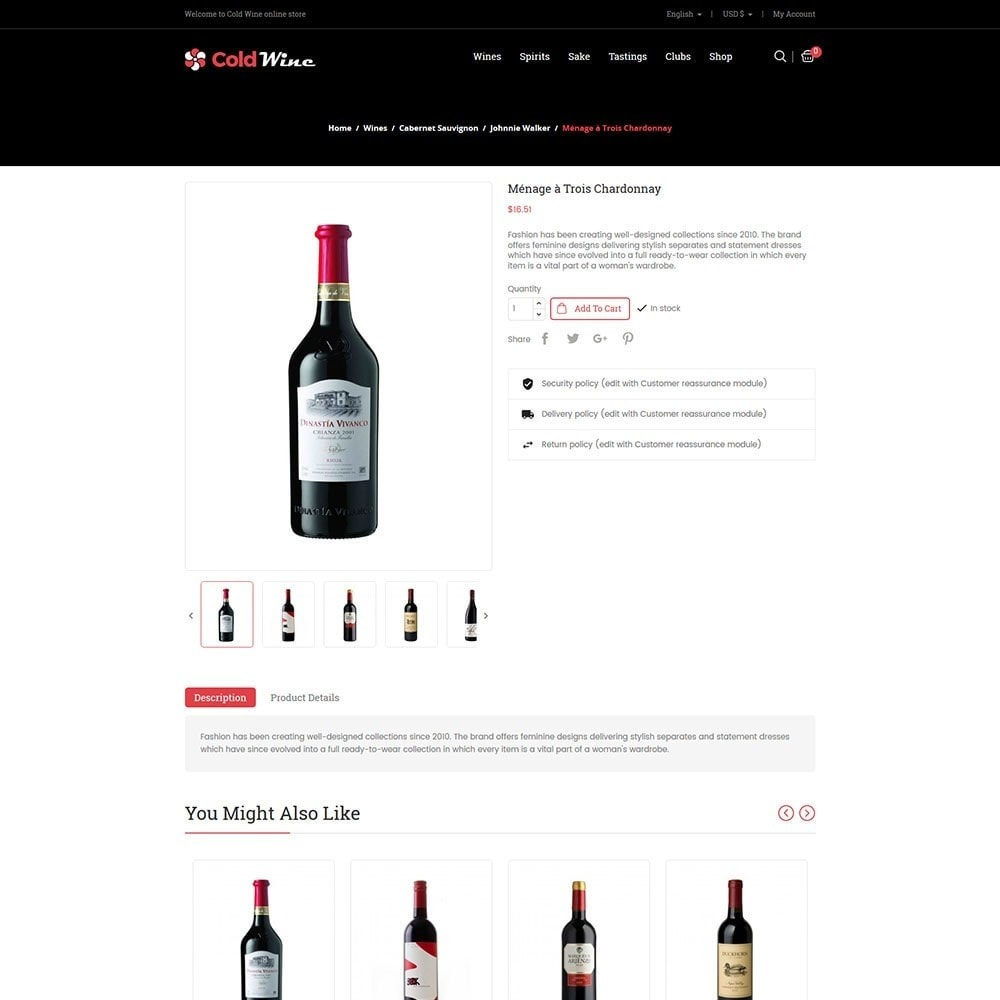 theme - Drink & Tobacco - Coldwine - Wine Store - 5