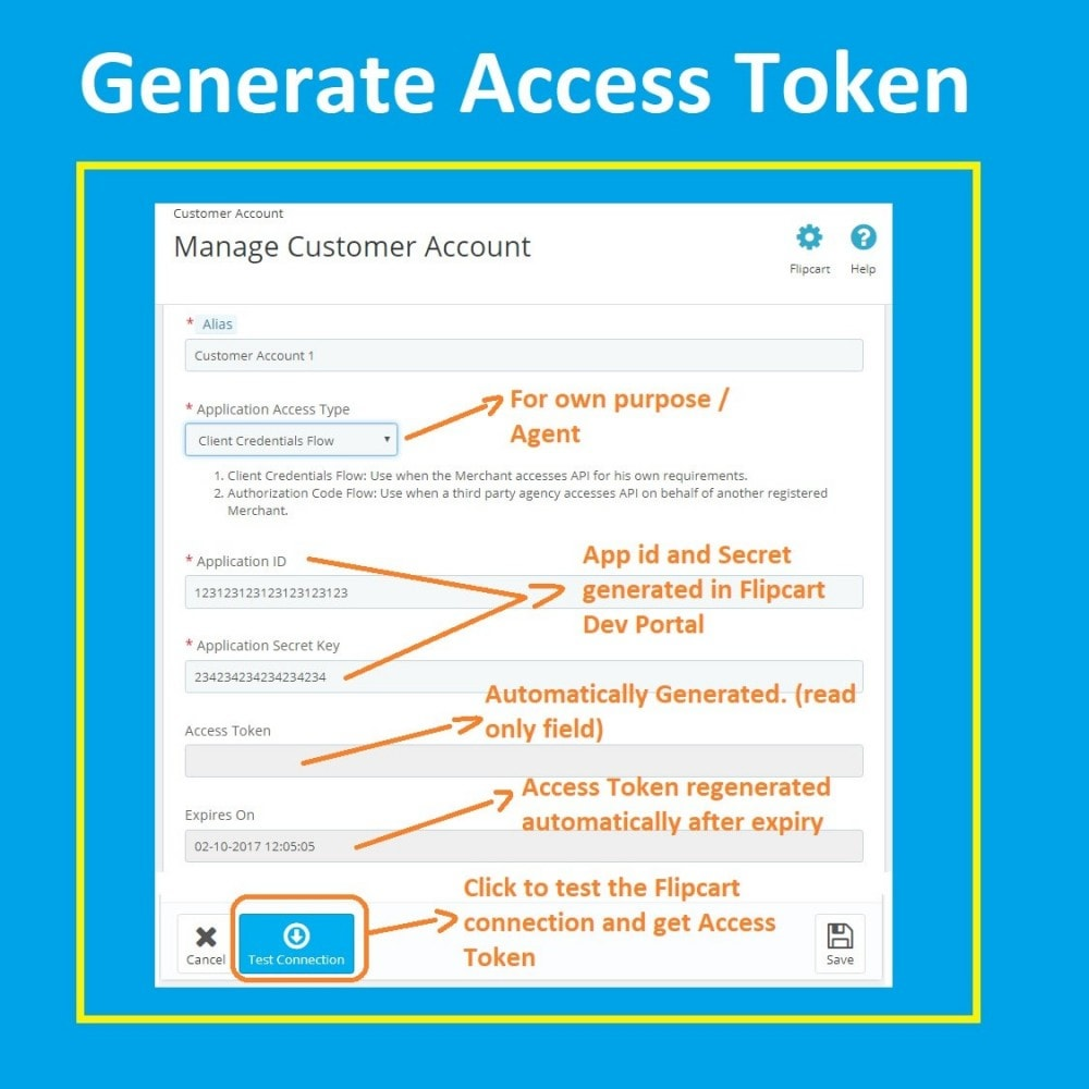 module - Platforma handlowa (marketplace) - Flipkart Marketplace Integration Solution - 2