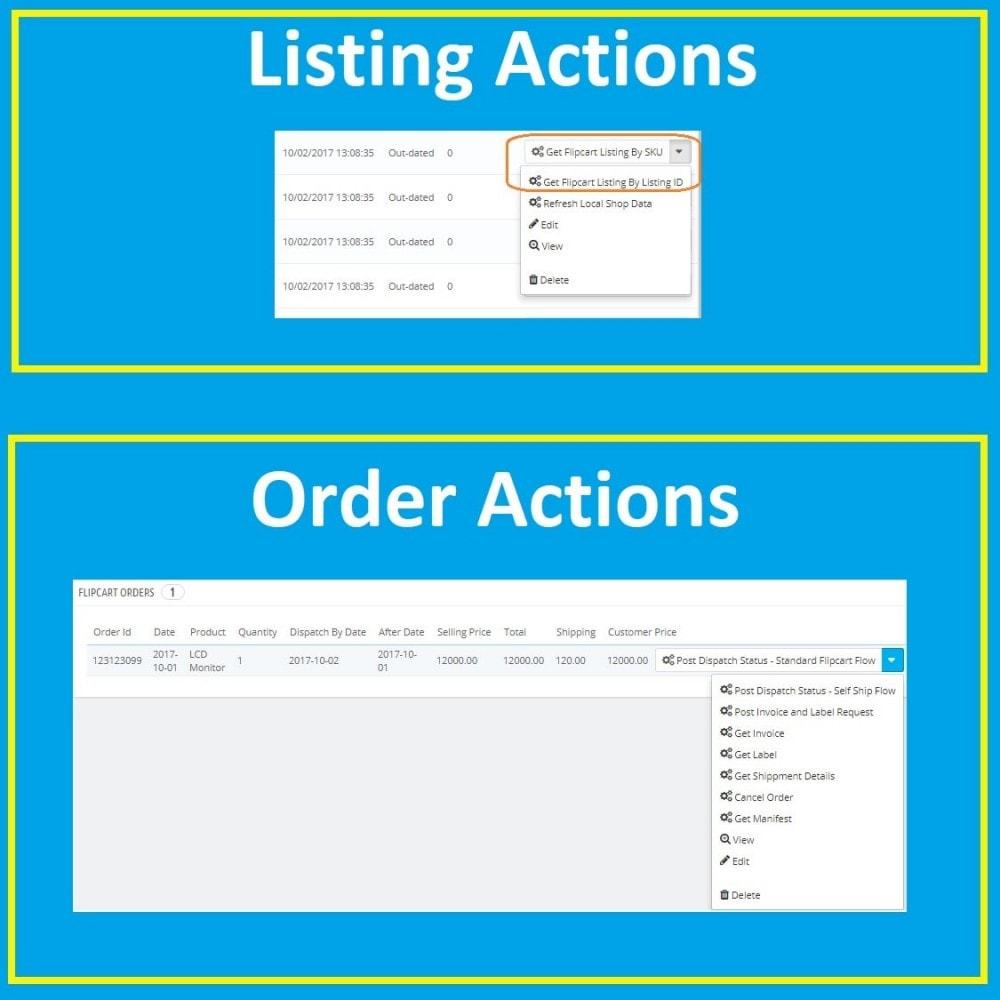 module - Platforma handlowa (marketplace) - Flipkart Marketplace Integration Solution - 3