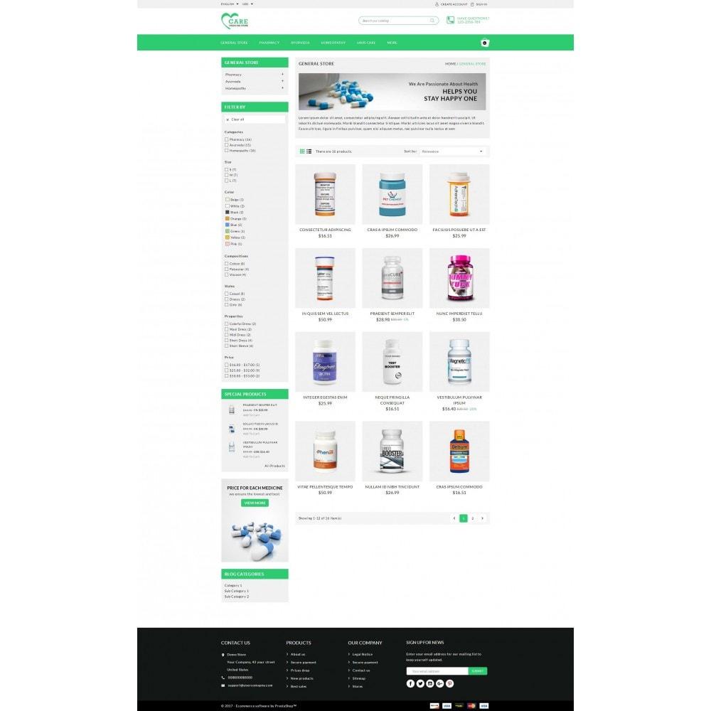 theme - Health & Beauty - Care - Medicine store - 3