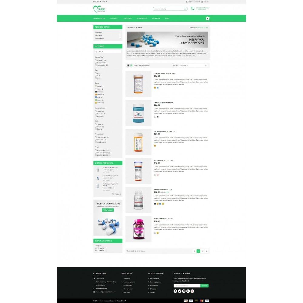 theme - Health & Beauty - Care - Medicine store - 4