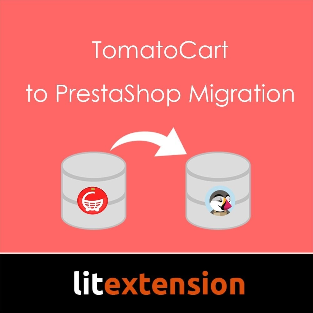 module - Migratie & Backup - LitExtension: TomatoCart to Prestashop Migration - 1