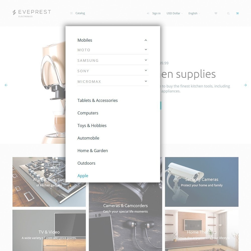 theme - Electronics & Computers - Eveprest - Electronics - 4