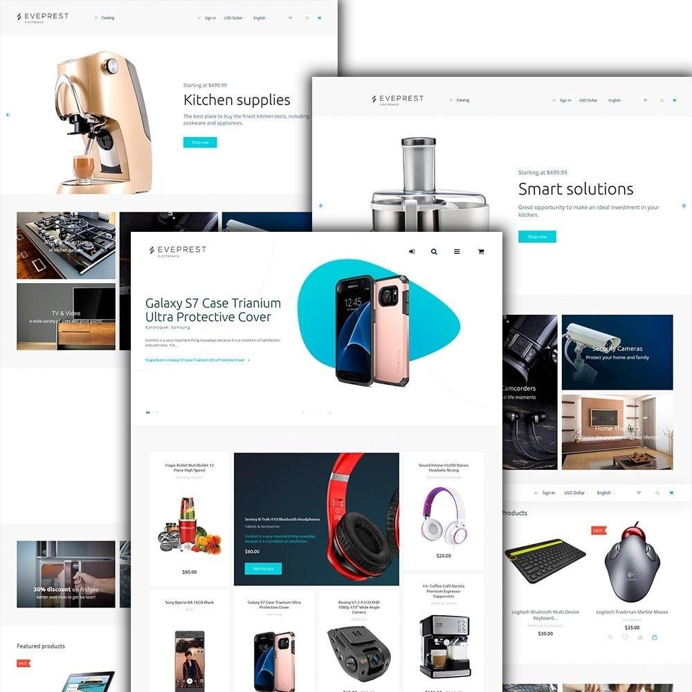 theme - Electrónica e High Tech - Eveprest -  para Sitio de Tienda de Electrónica - 3