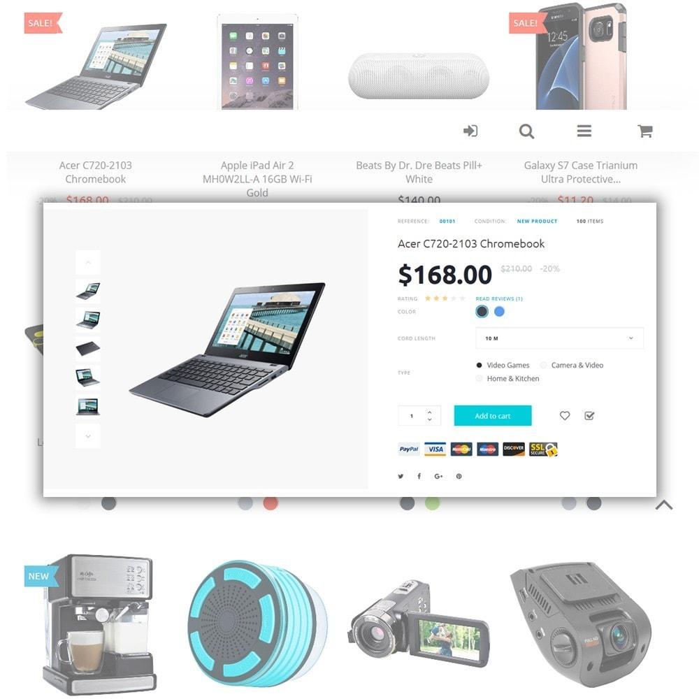 theme - Electrónica e High Tech - Eveprest -  para Sitio de Tienda de Electrónica - 4