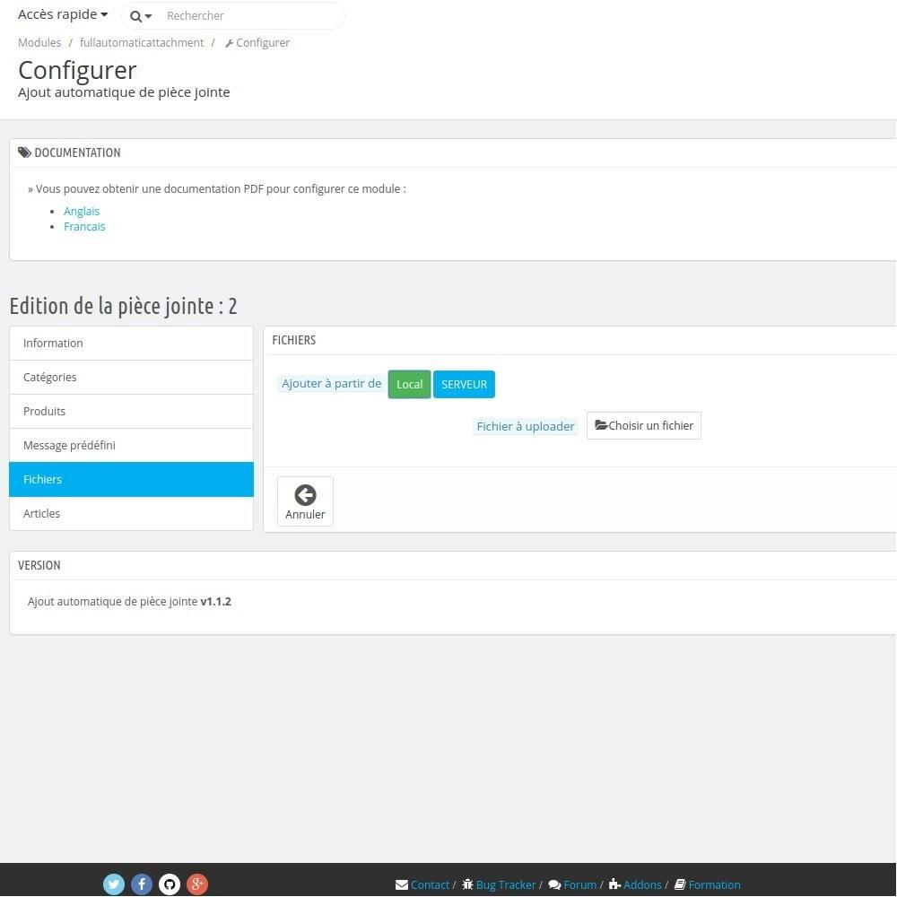 module - E-mails & Notifications - Fullautomaticattachment - Envoi de document automatisé - 13