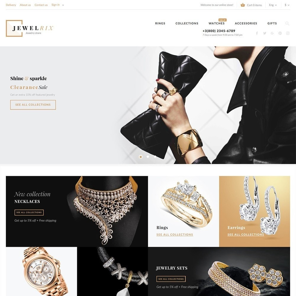 theme - Fashion & Shoes - Jewelrix 1.7 - 2
