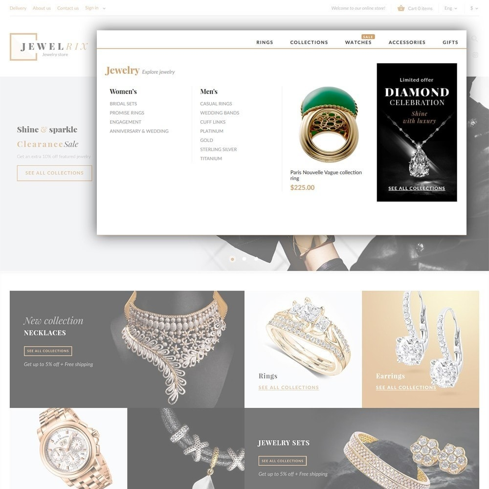 theme - Fashion & Shoes - Jewelrix 1.7 - 4