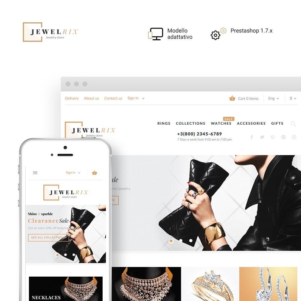 theme - Moda & Calzature - Jewelrix - Theme per Un Sito di Gioielli - 2