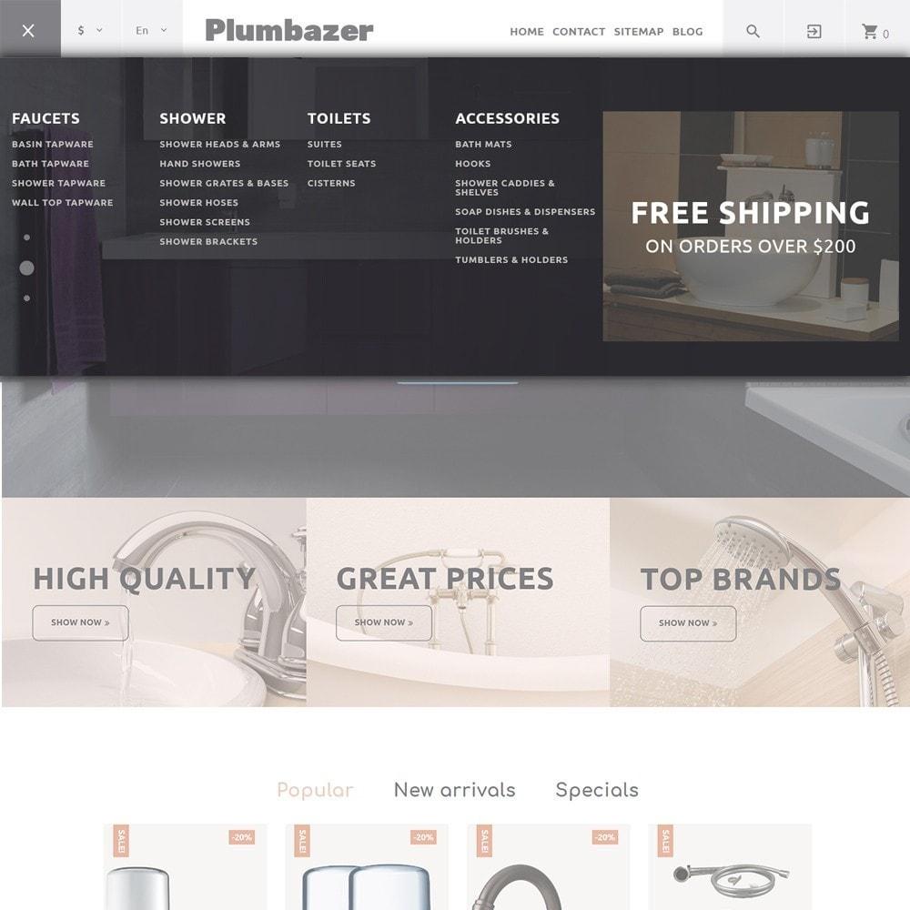 theme - Dom & Ogród - Plumbazer - Plumbing Responsive - 3