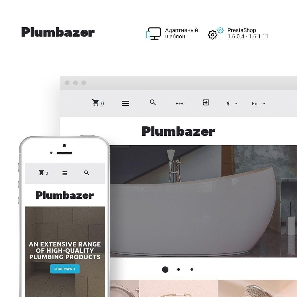 theme - Дом и сад - Plumbazer - Plumbing Responsive - 1