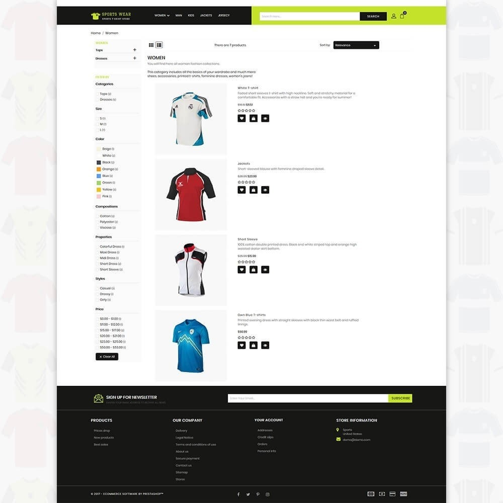 theme - Sport, Activiteiten & Reizen - Sports Wear - The Sports T-shirt store - 4