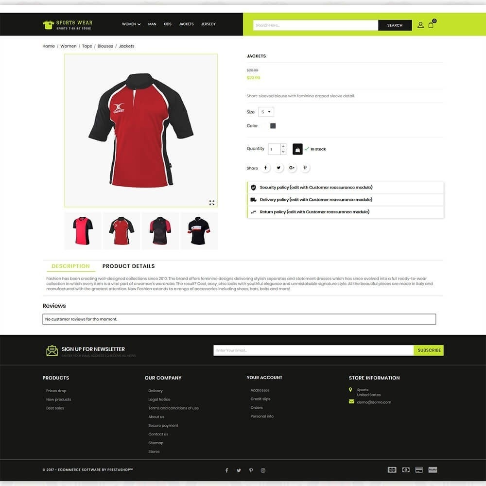 theme - Sport, Activiteiten & Reizen - Sports Wear - The Sports T-shirt store - 5