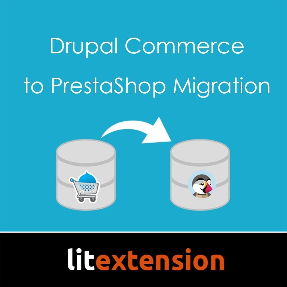module - Migratie & Backup - LitExtension: Drupal Commerce to Prestashop Migration - 1