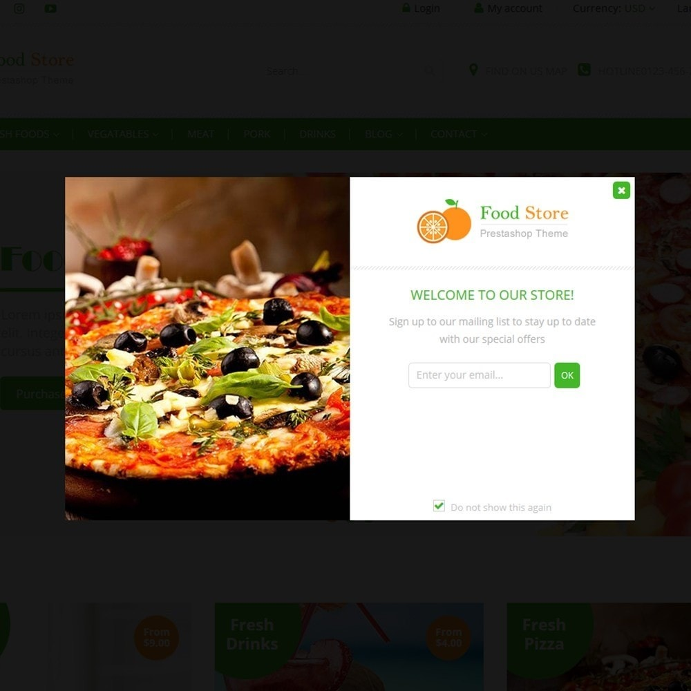theme - Food & Restaurant - Food store - Fresh foods,  drinks and fruit store - 7