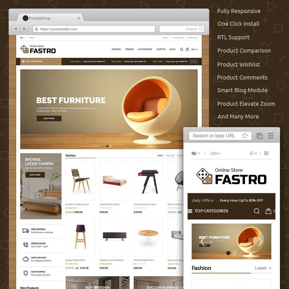 theme - Huis & Buitenleven - Fastro Furniture Shop - 1