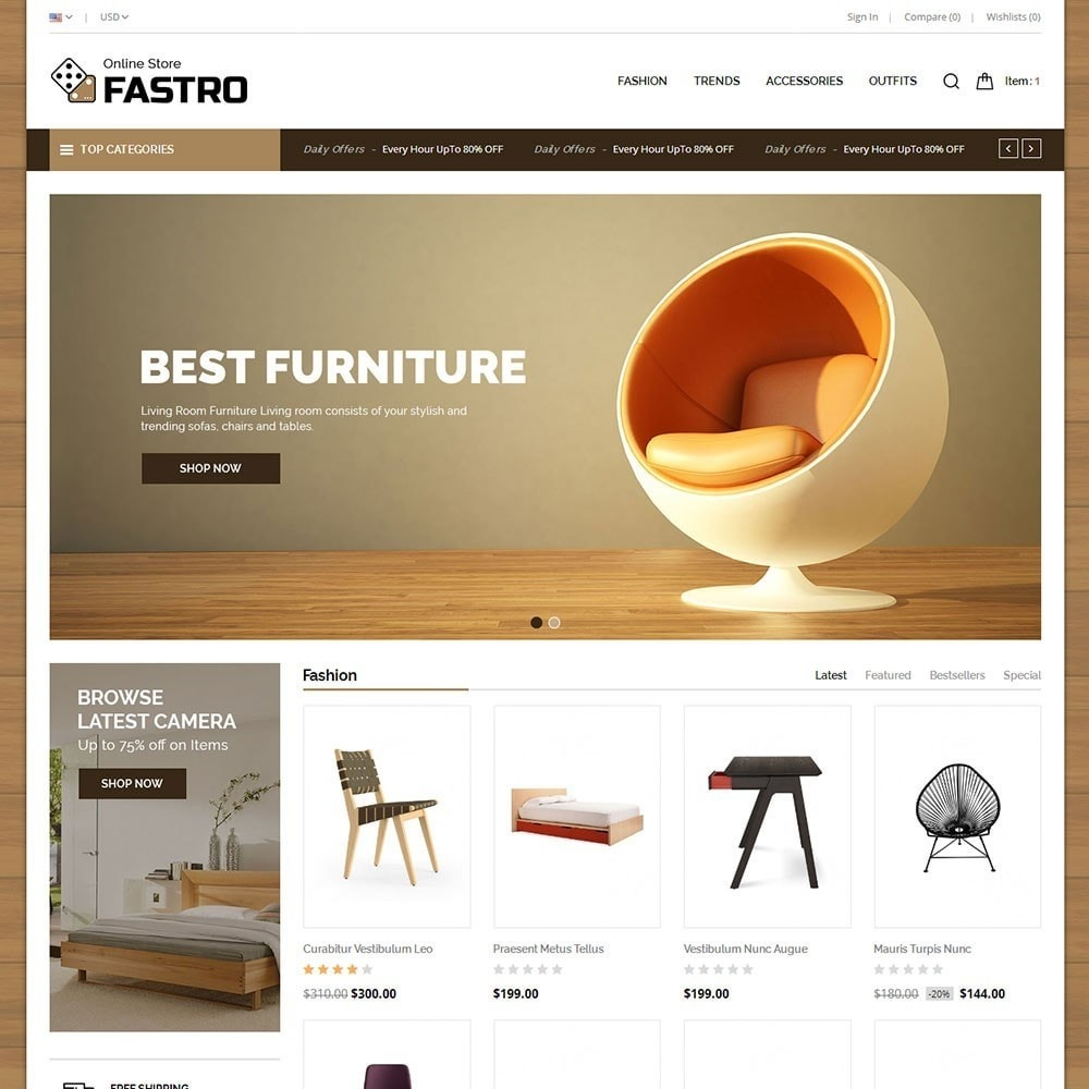 theme - Huis & Buitenleven - Fastro Furniture Shop - 2