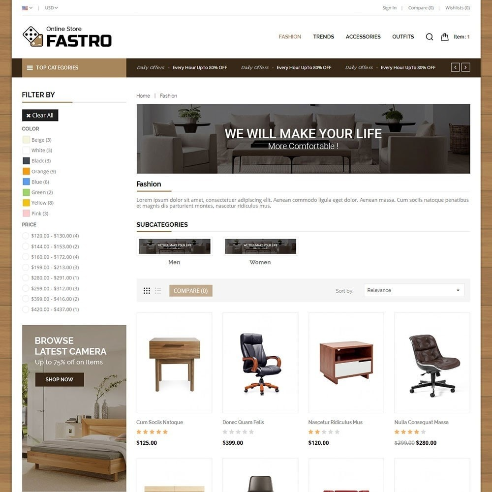 theme - Huis & Buitenleven - Fastro Furniture Shop - 3