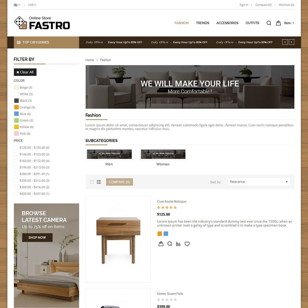 theme - Huis & Buitenleven - Fastro Furniture Shop - 4
