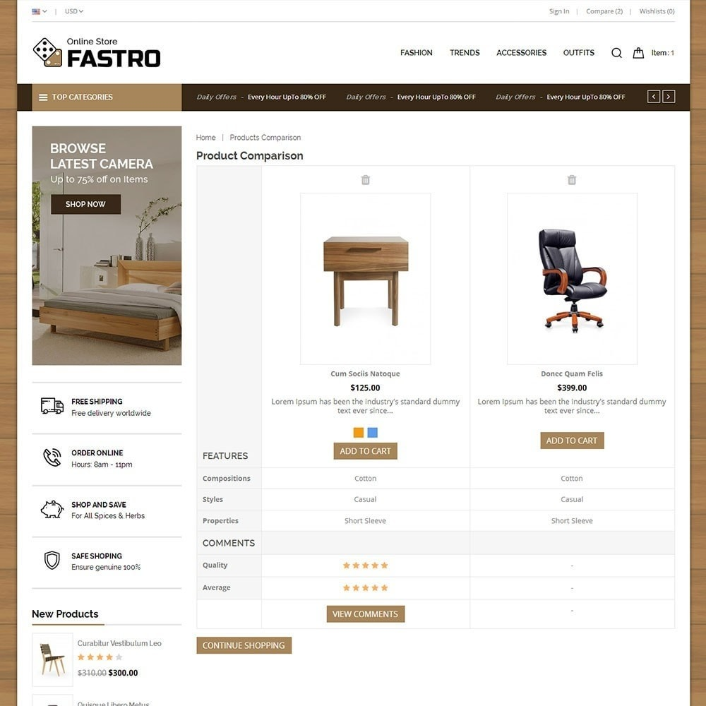 theme - Huis & Buitenleven - Fastro Furniture Shop - 7