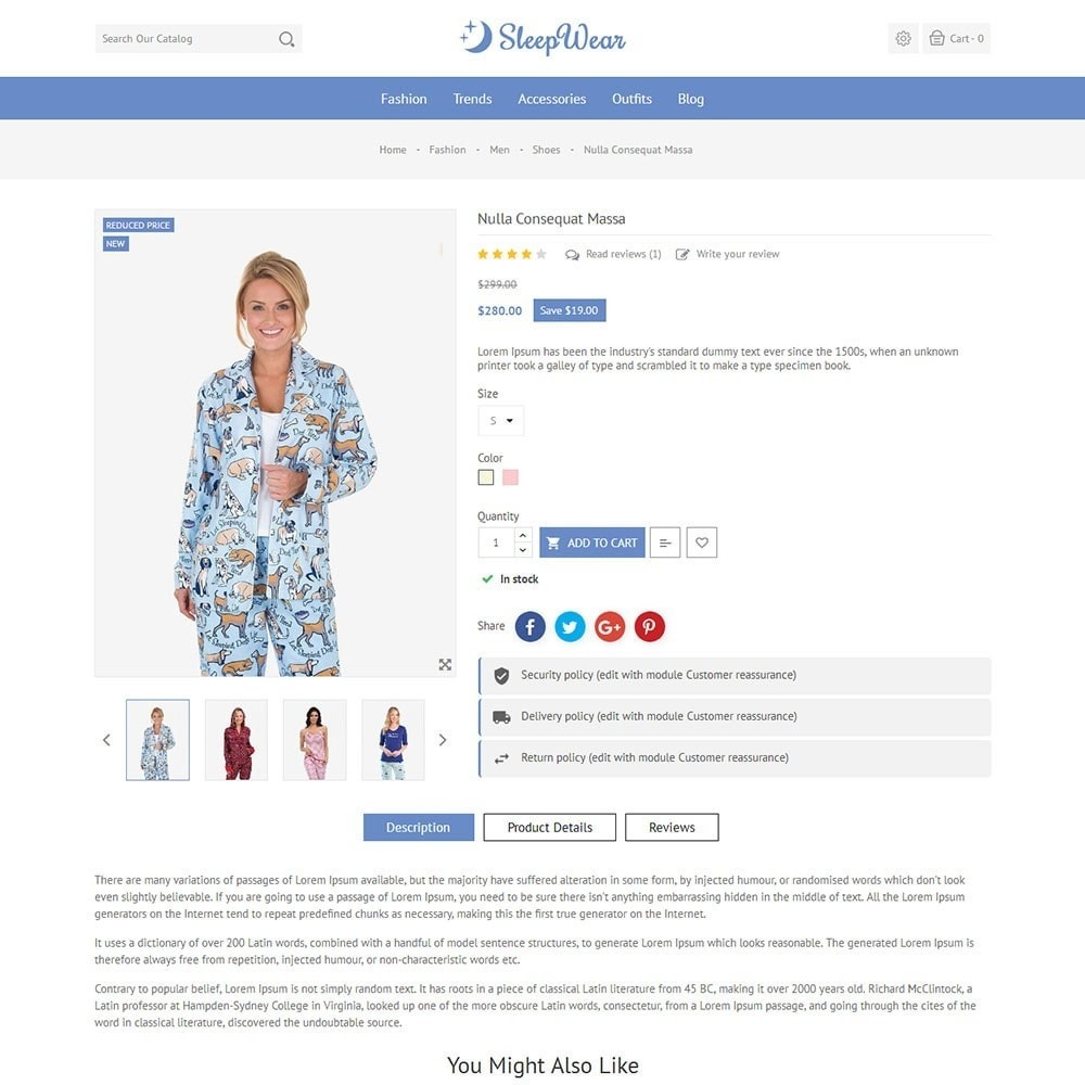 theme - Lingerie & Adulti - Sleep Wear Store - 5