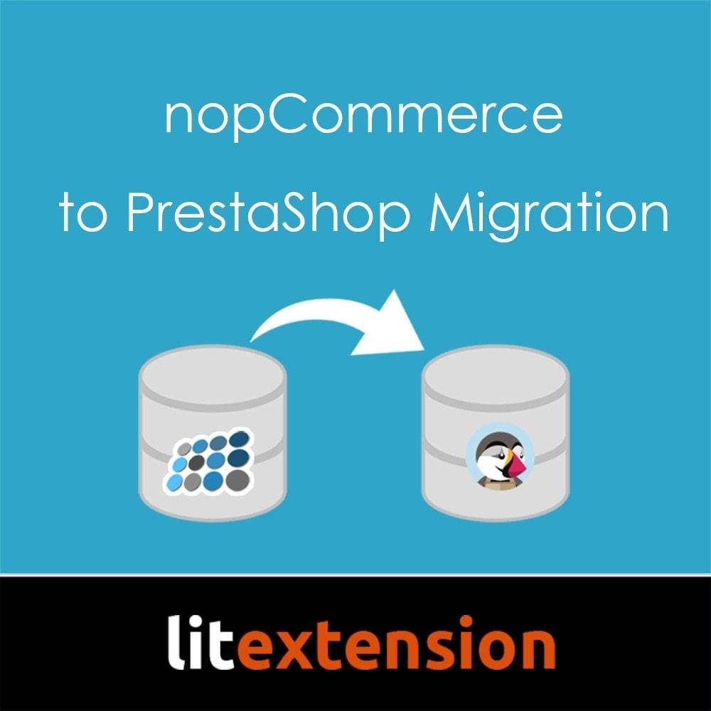 module - Migration de Données & Sauvegarde - LitExtension: nopCommerce to Prestashop Migration - 1