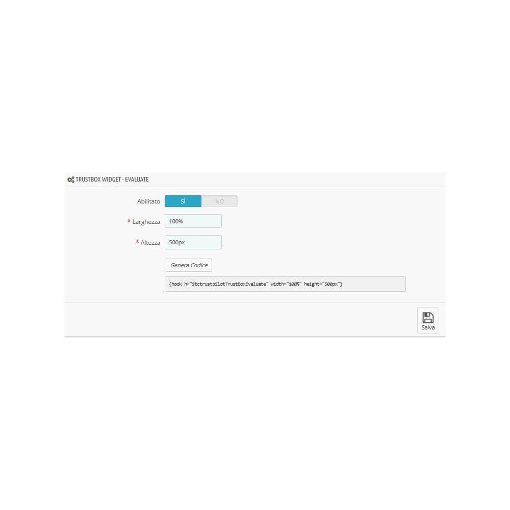 module - Recensioni clienti - ITC TrustPilot Manager - 6
