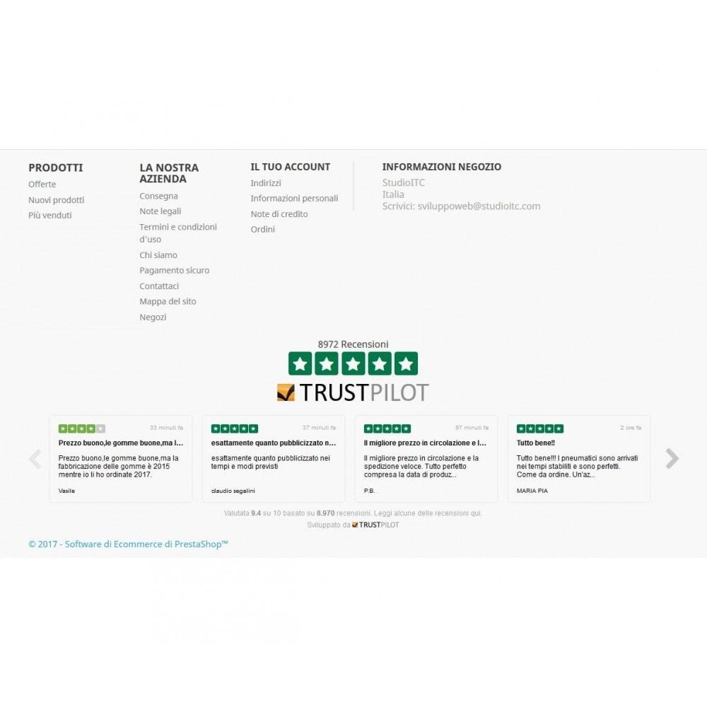 module - Recensioni clienti - ITC TrustPilot Manager - 8