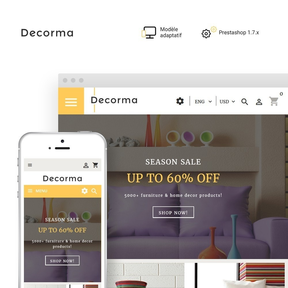 theme - Art & Culture - Decorma - magasin de meubles - 1