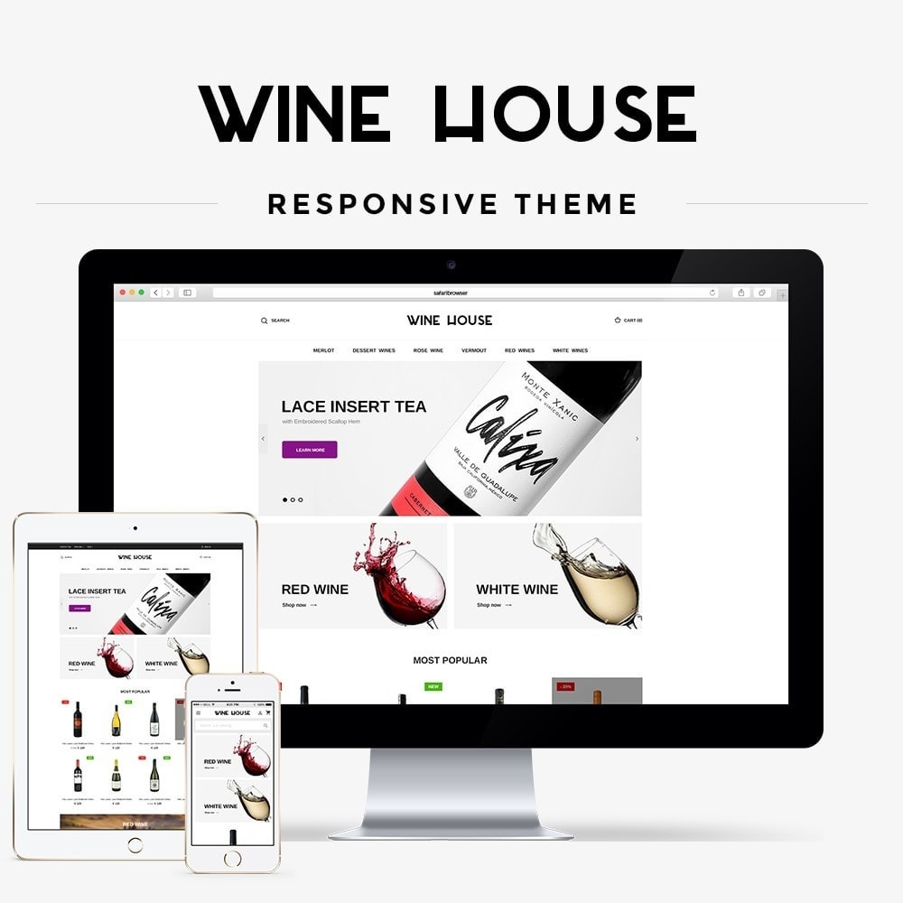theme - Bebidas y Tabaco - Wine House Shop - 1