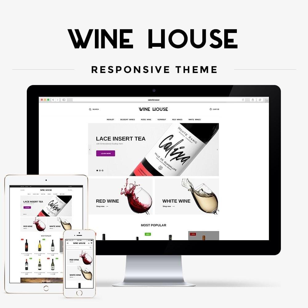 theme - Bebidas & Tabaco - Wine House Shop - 1
