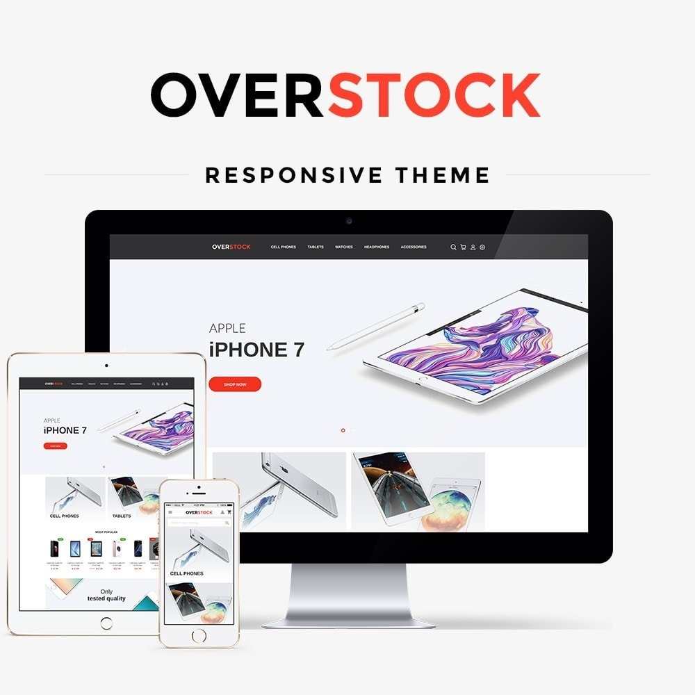 theme - Electronics & Computers - Overstock - High-tech Shop - 1