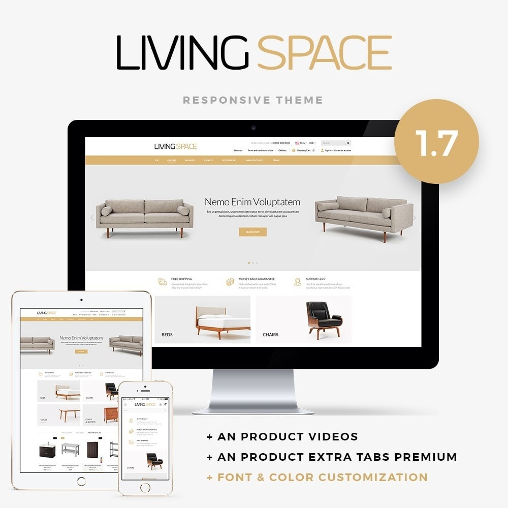 theme - Dom & Ogród - Living Space - 1