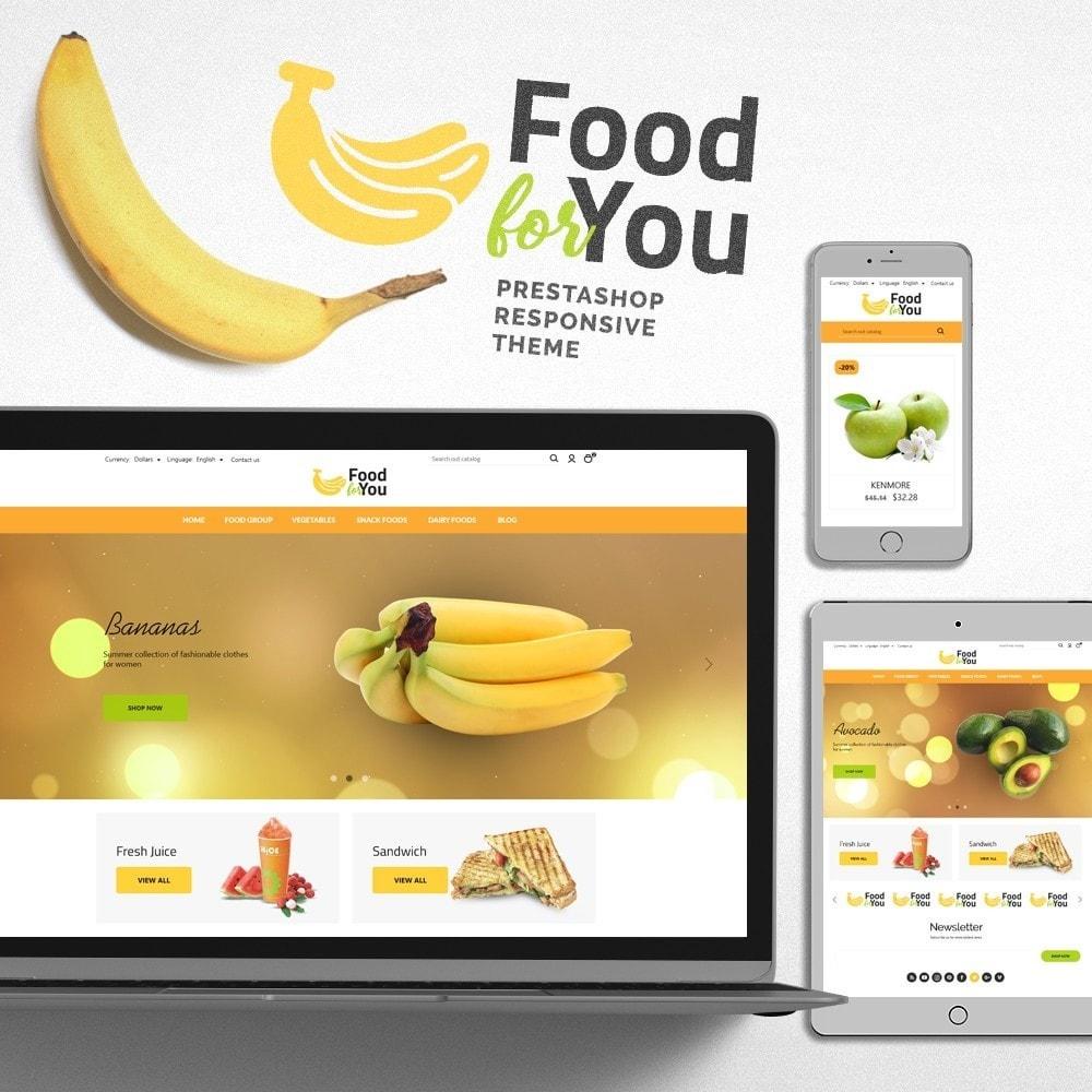 theme - Gastronomía y Restauración - Food For You - 1