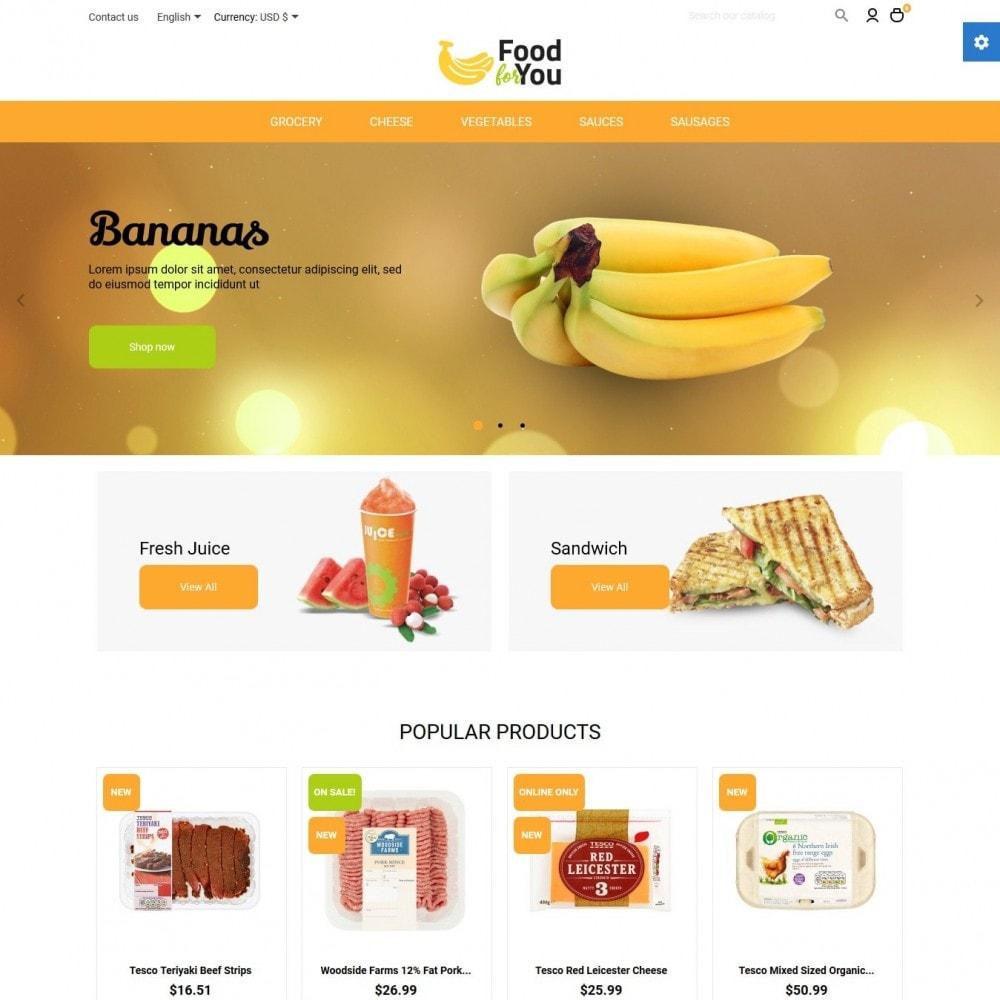 theme - Gastronomía y Restauración - Food For You - 2